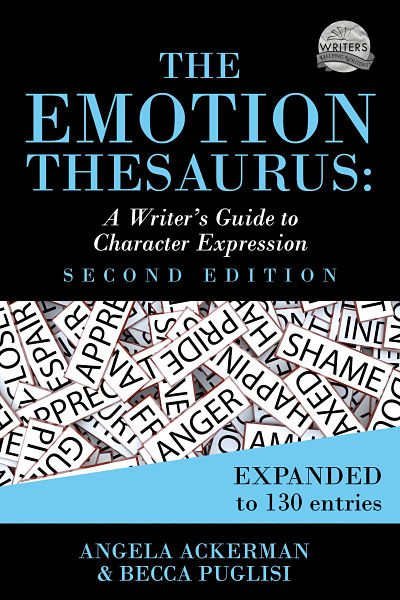 book cover for the second edition of The Emotion Thesaurus