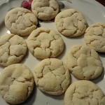 a photograph of some sugar cookies
