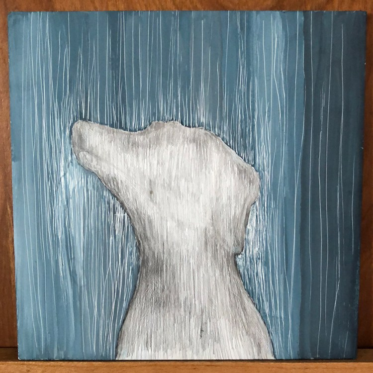 Tiny Drawing - Emma the Dog