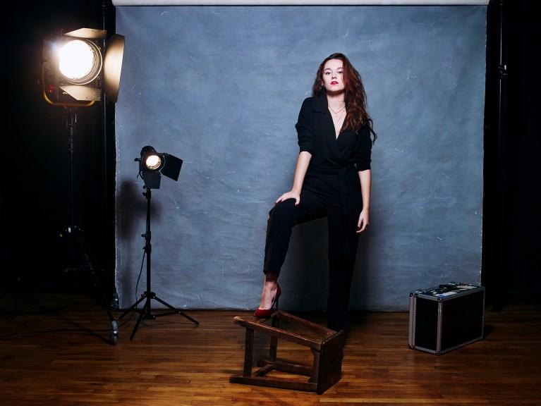 Eline Mammoliti, comédienne photographiée par Lauréline Reynaud