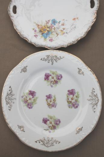 Antique Bavaria Amp Germany China Bowls Lot Embossed