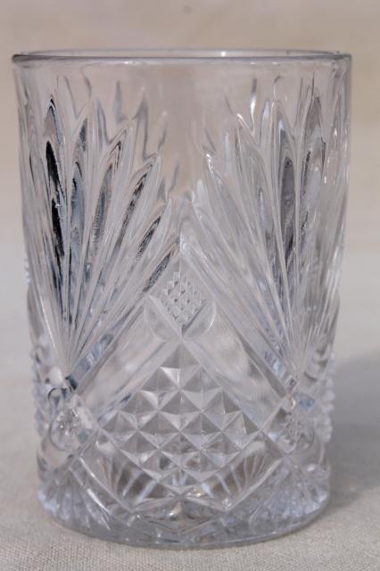 Collection Of Antique Amp Vintage Pressed Pattern Glass