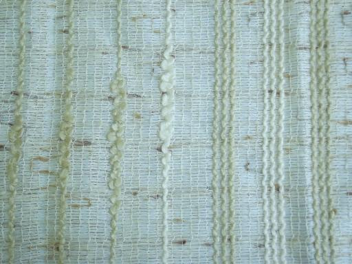 Danish Modern 60s 70s Vintage Drapes Handwoven Weave