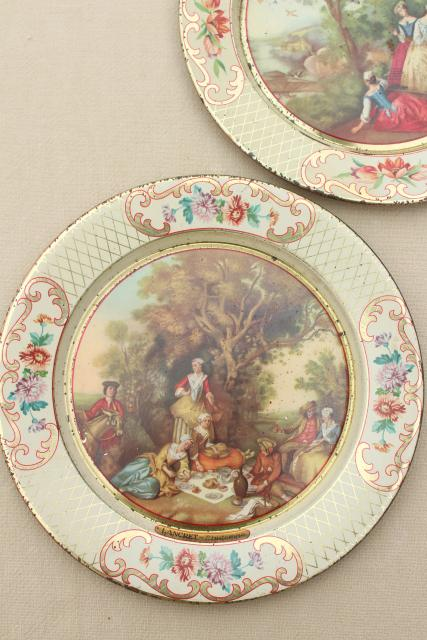 French Country Decor Plates