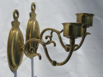 vintage lighting, lamps, chandeliers & sconces on Brass Wall Sconces Non Electric Lighting id=55790