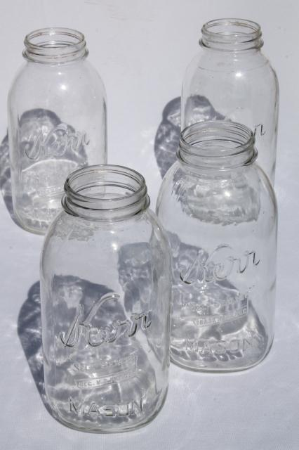 Mason Jars Pickle Jar Canning Kitchen Canisters