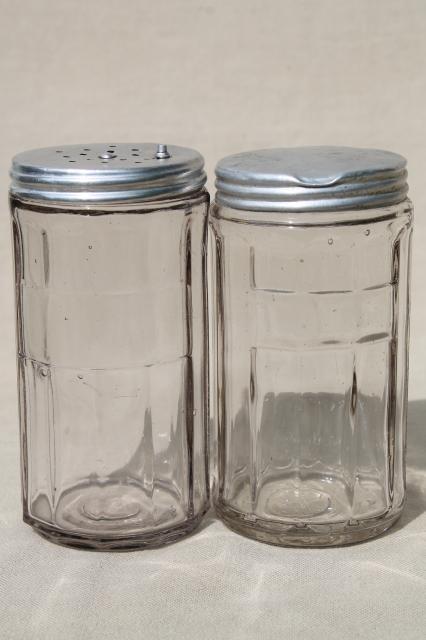 Vintage Hoosier Jars Depression Glass Kitchen Canisters