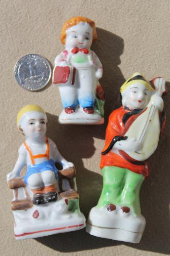 Vintage Occupied Japan Figurines Hand Painted China