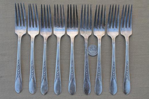 Wm Rogers Silverware Pattern Identification