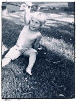 Once a tomboy, always a tomboy ... aged 3 or so