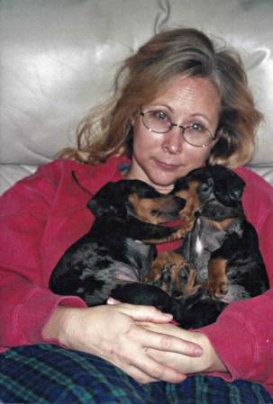 """The """"twins"""": Courtney and Dobie"""