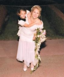 ROTFL ... so me ... carrying my flower girl
