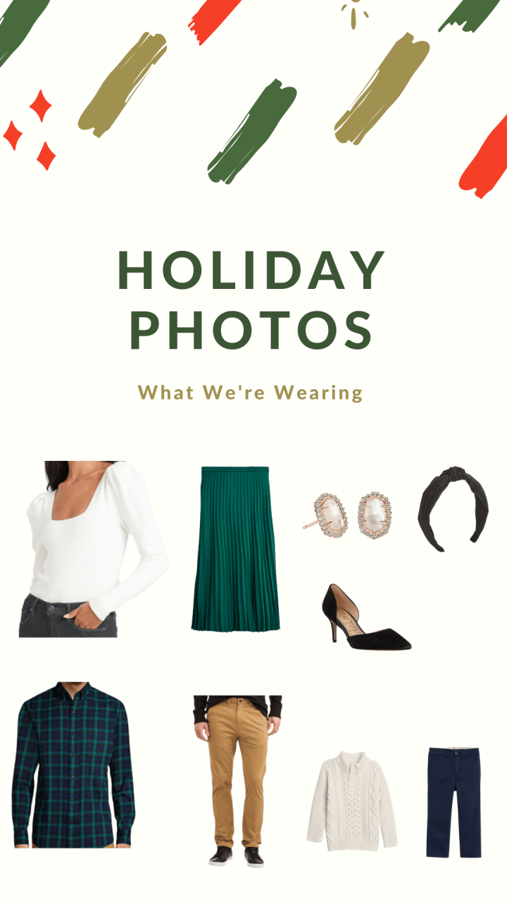 Family Holiday Photos: What We're Wearing