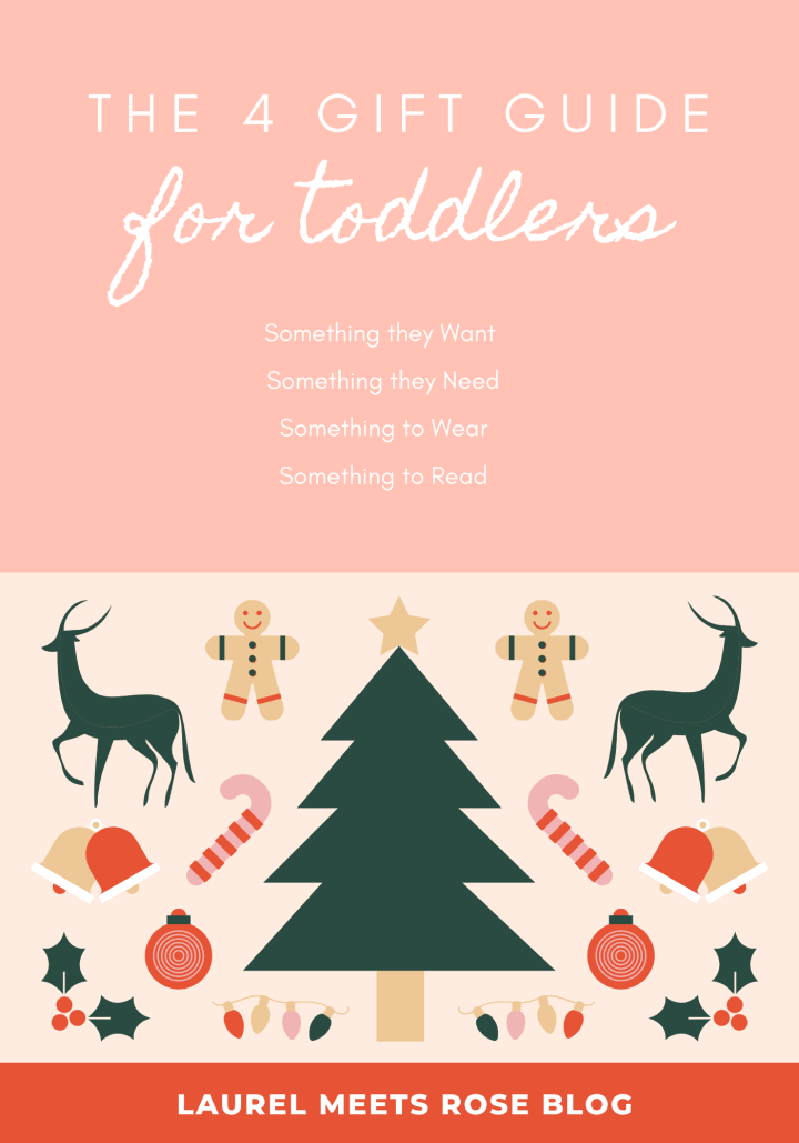Celebrating a Simple Christmas with Toddlers :: A Four Gift Guide (For Ages 1-3)