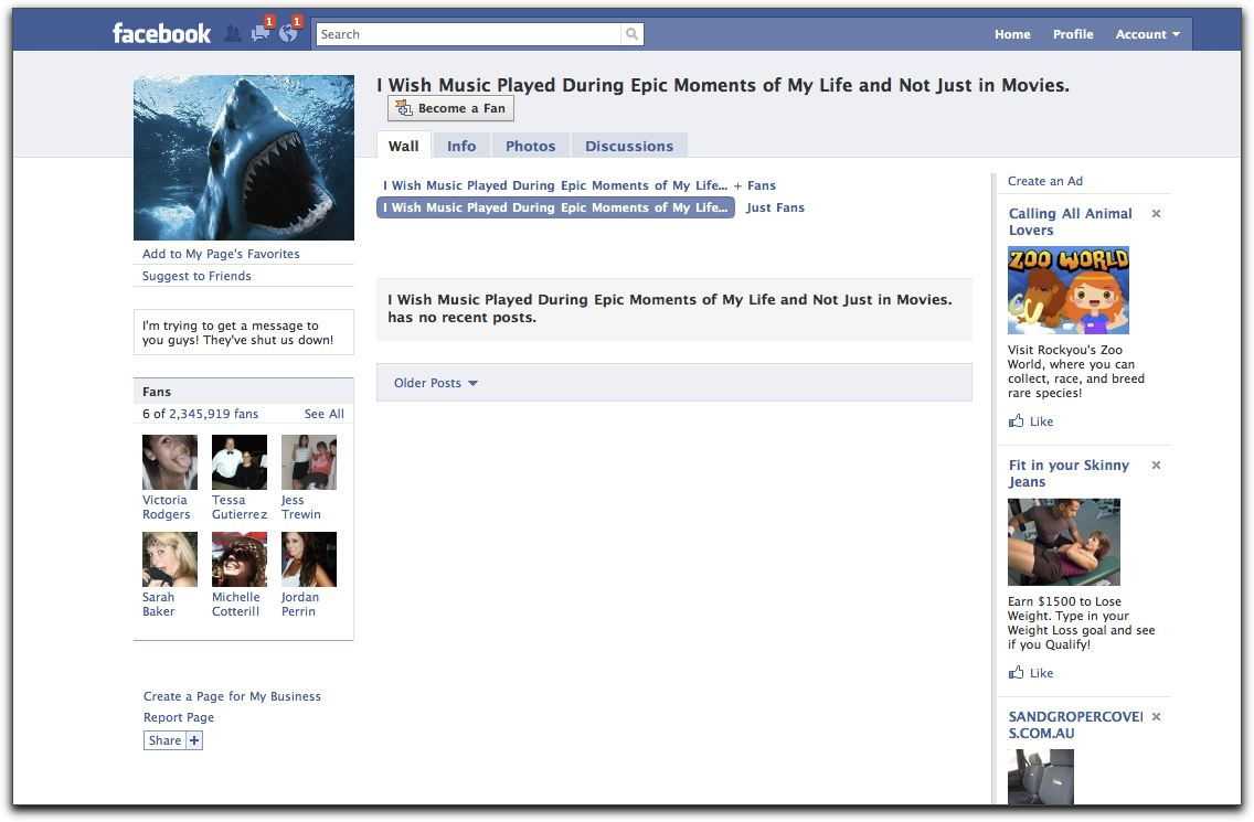 An Error Occurred New Facebook Page