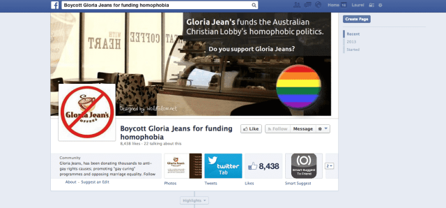 Gloria jeans anti gay marriage equality
