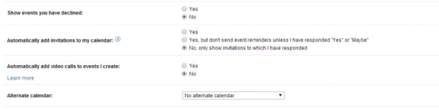 Calendar- Event Spam Google Hangouts 5
