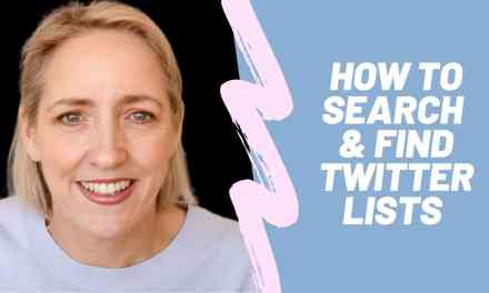 How to Find Twitter Lists 2020