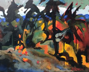 Deconstructed Forest by Artist Ann Enyon