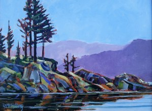 In the Lee by Artist Robert H McMurray