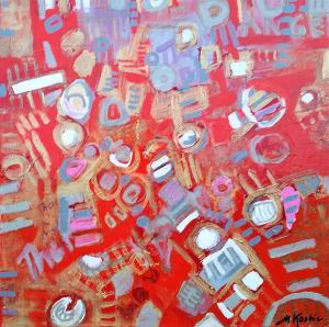 Red State 12 by Artist Mila Kostic