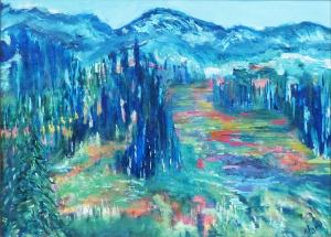 September Along the Coquihalla by Artist Jan Rankin