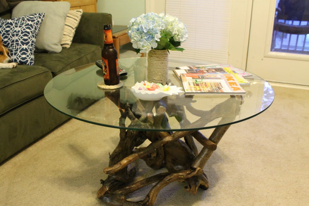 How To Make A Driftwood Table. Hey Yu0027all! We Are Morgan U0026 Sean, The Voices  Behind Charleston Crafted, A Blog About Crafting A Colorful, Coastal Life  ...