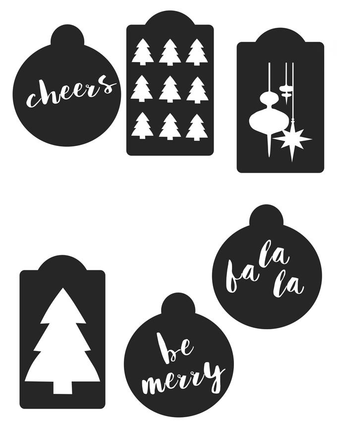 A Bubbly Lifediy Printable Christmas Gift Tags Using Adobe Photoshop