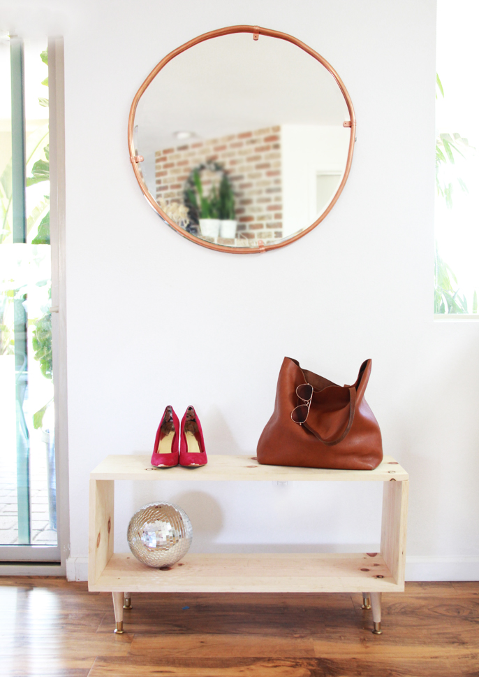 diy wooden shoe rack but it will eventually end up in our entry way i am working hard on getting our living room and entryway set up i am hoping that