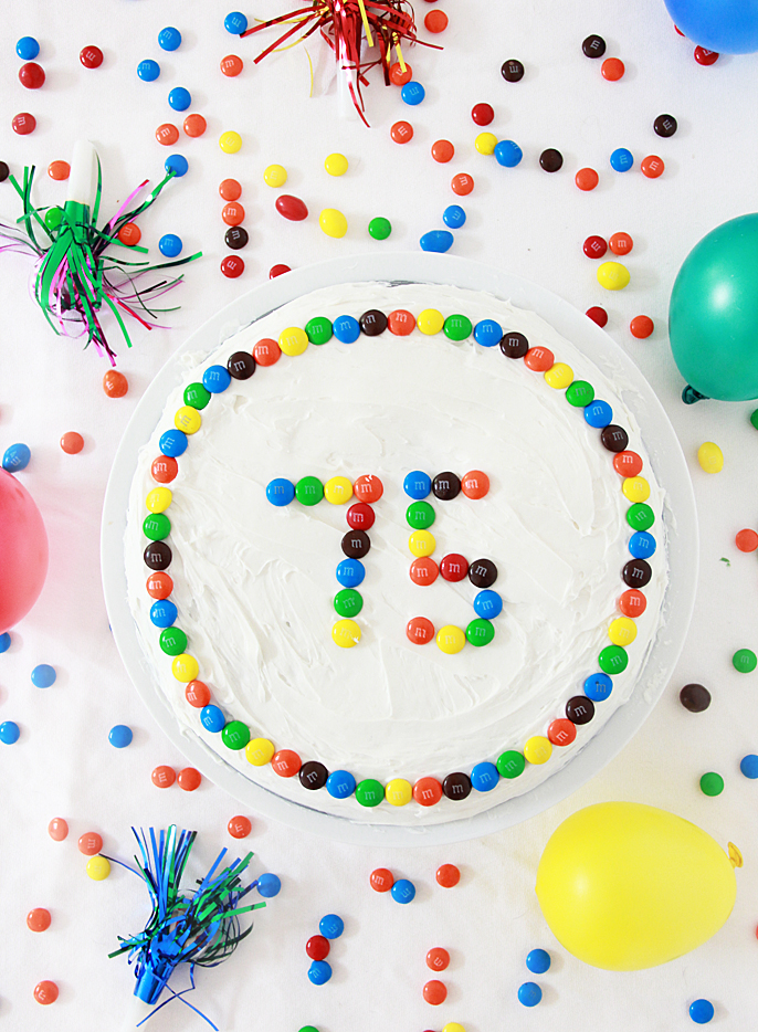 someone special is celebrating 75 years lets celebrate with m to celebrate 75 years of deliciousness we have partnered with mms for some fun party - Someone Decorating For A Party