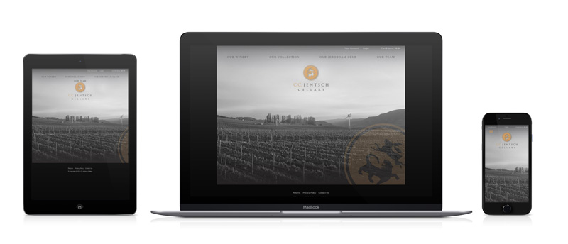 a photo of cc jentsch cellars website