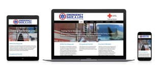 a photo representation of the Emergency Save a Life Website