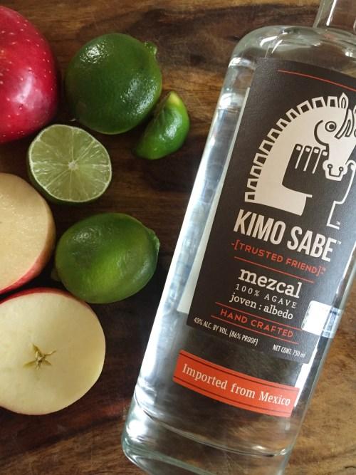 The HOWL (spicy smoky mezcal cocktail) | laurenariza.com