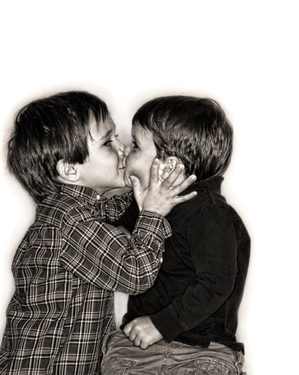 The Kissing Brothers