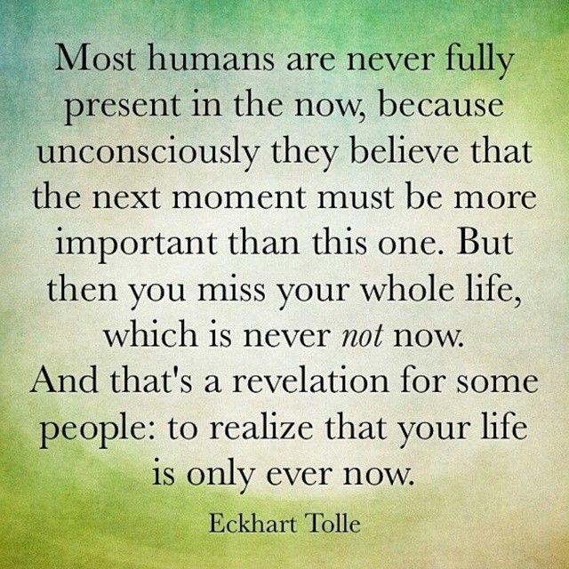 Eckhart Tolle Mindfulness