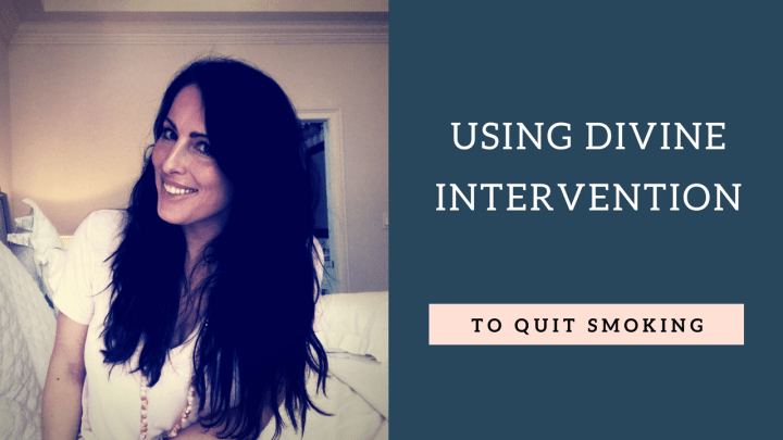 Using Divine Intervention to Quit Smoking
