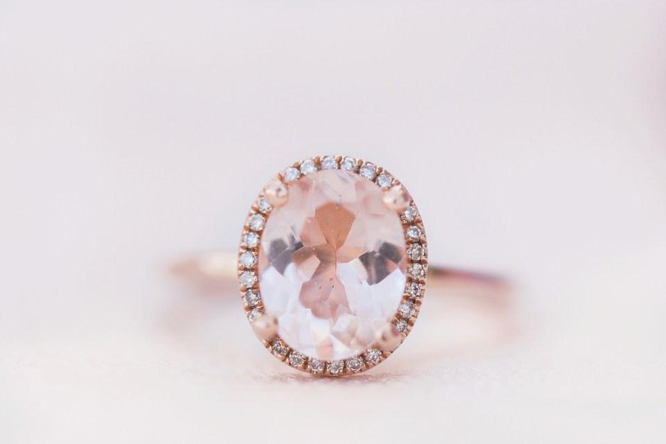 Pinetop Wedding, Northern Arizona Wedding Photographer, Lakeside Wedding, Woodsy Wedding, Morganite Engagement Ring