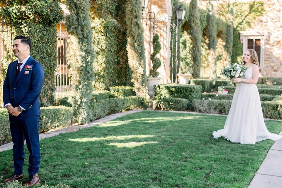 Villa Siena Wedding, Villa Siena Gilbert, Arizona Blush Wedding, Villa Siena Wedding Photographer, Phoenix Wedding Photographer, Villa Siena First Look