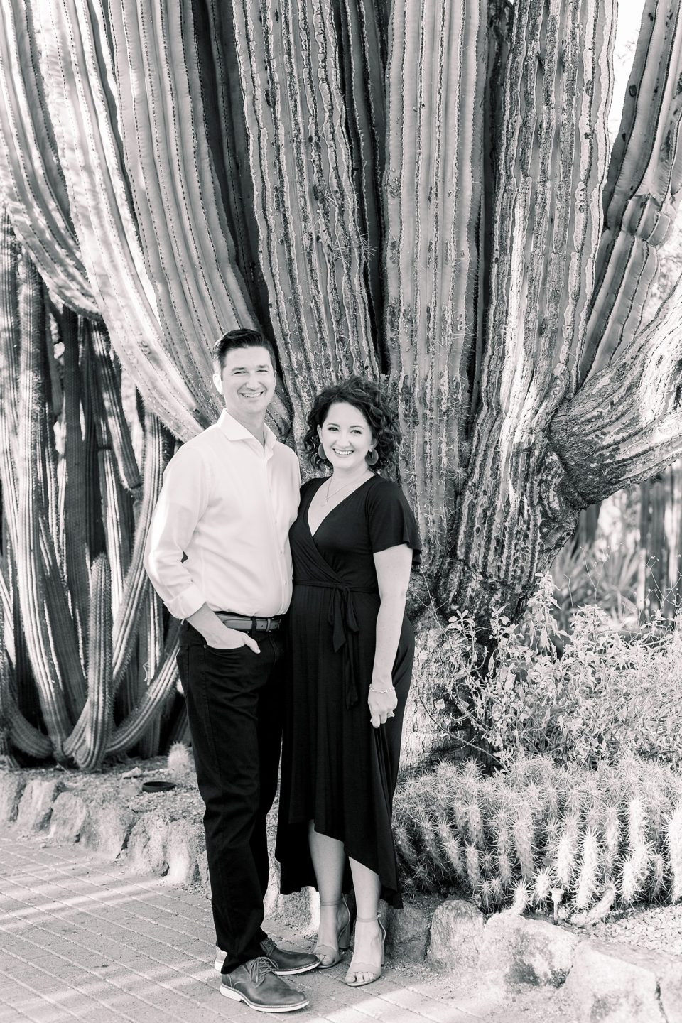Desert Botanical Gardens Engagement Session, Phoenix Wedding Photographer, DBG Weddings