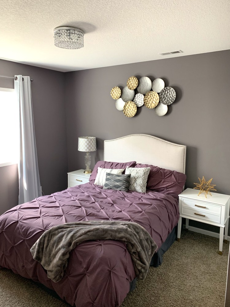 amazing guest gray bedroom makeover before and after from wayfair