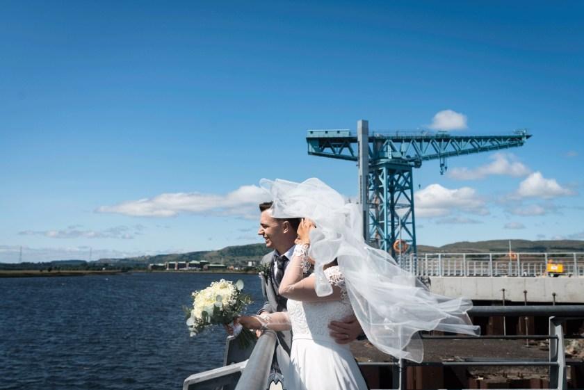 Clydebank wedding