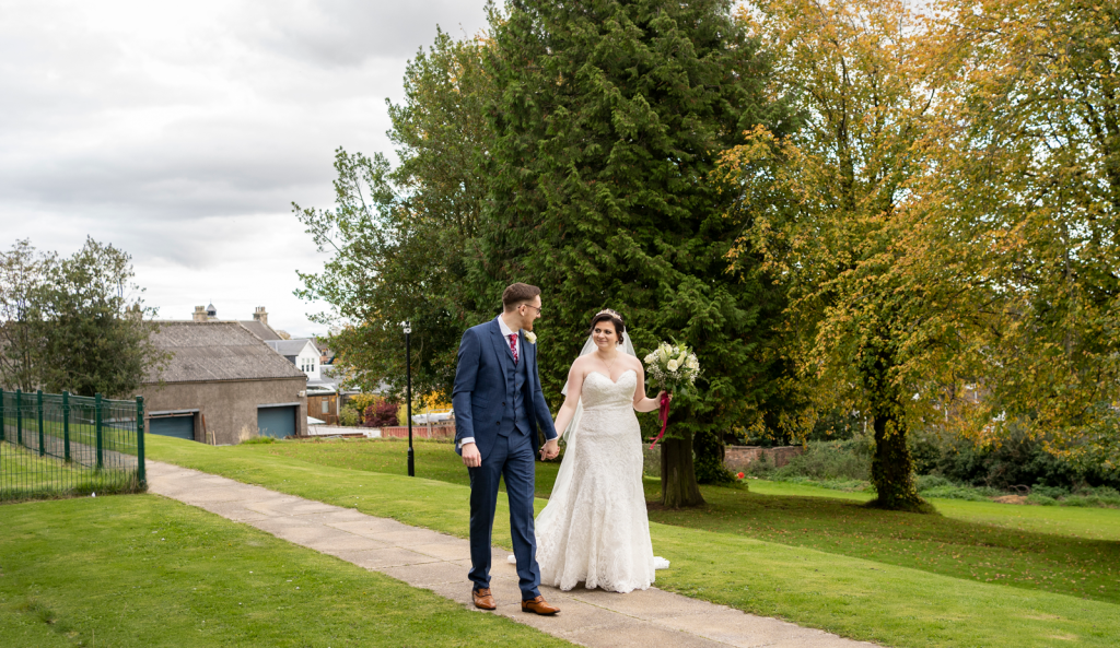 Lauren and Andrews Scottish Micro Wedding.