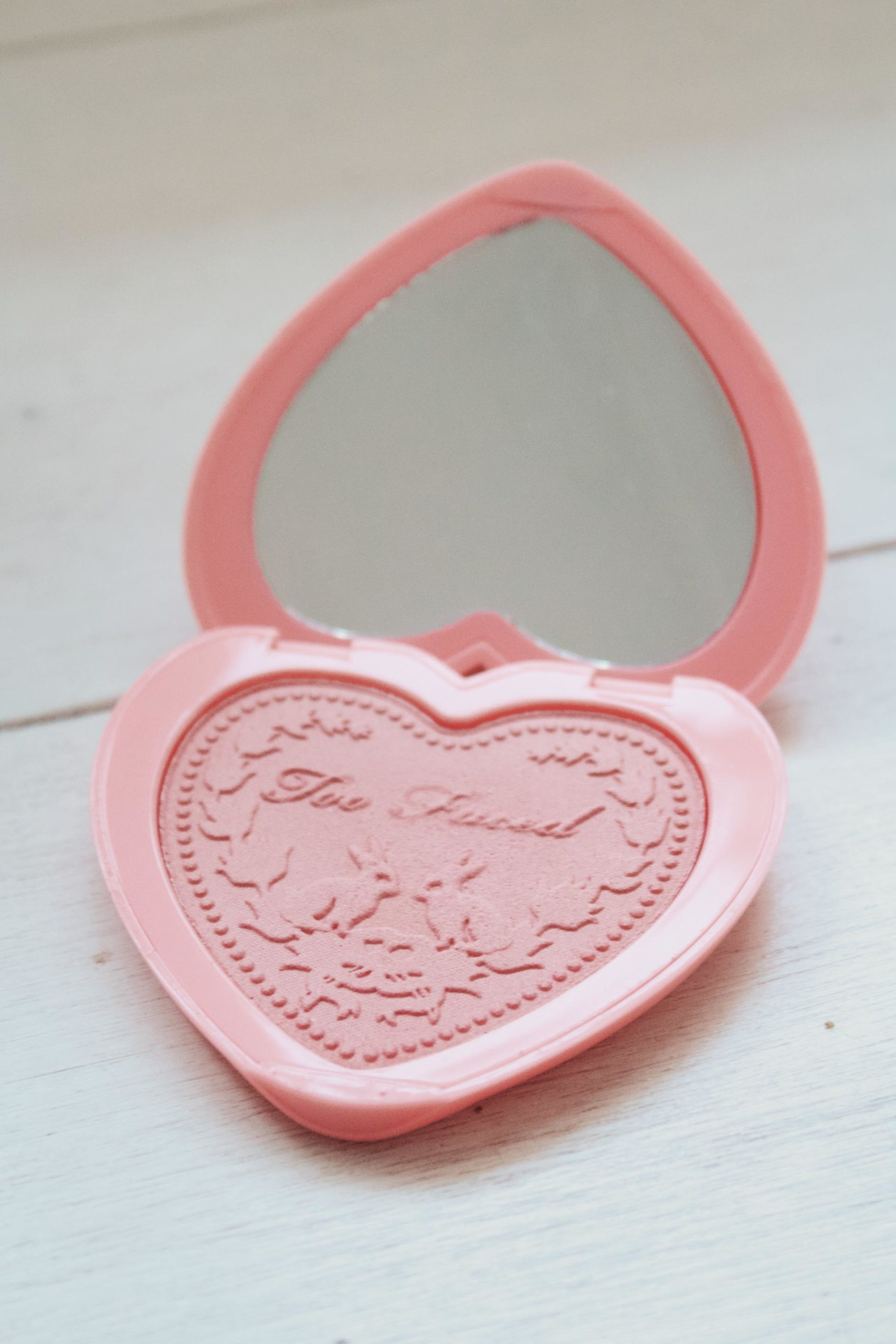 Beauty pink blush
