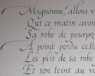 Calligraphie -commandes
