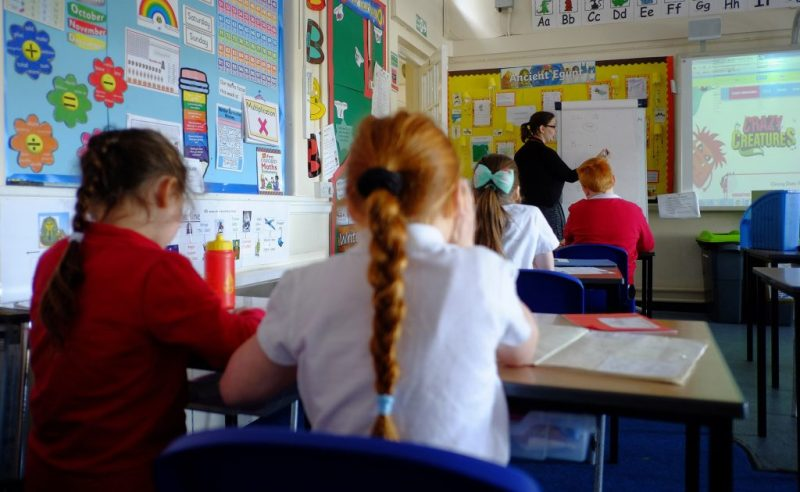 Crays Hill Primary lesson