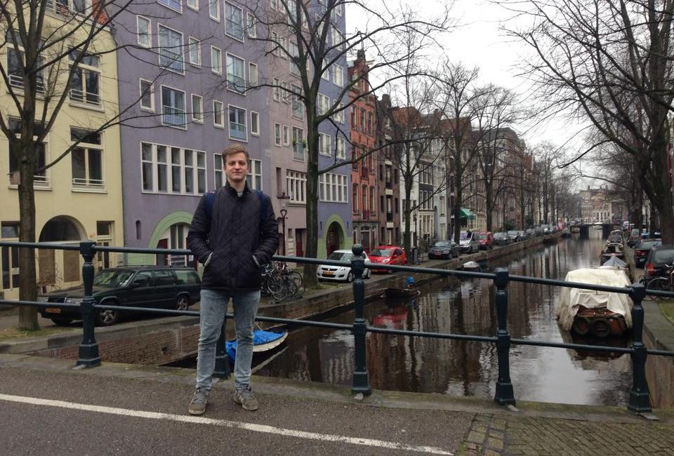 Laurence in Amsterdam