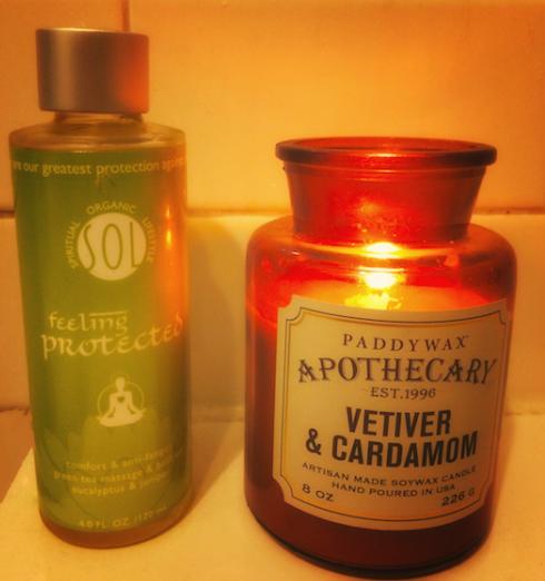InternDIVA: Feeling Zen with LING Skincare's Green Tea Massage & Bath Oil