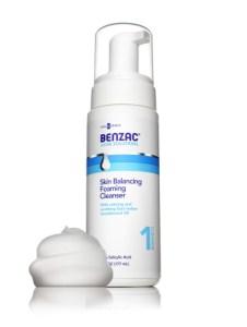 BenzacSkinBalancingFoamingCleanser