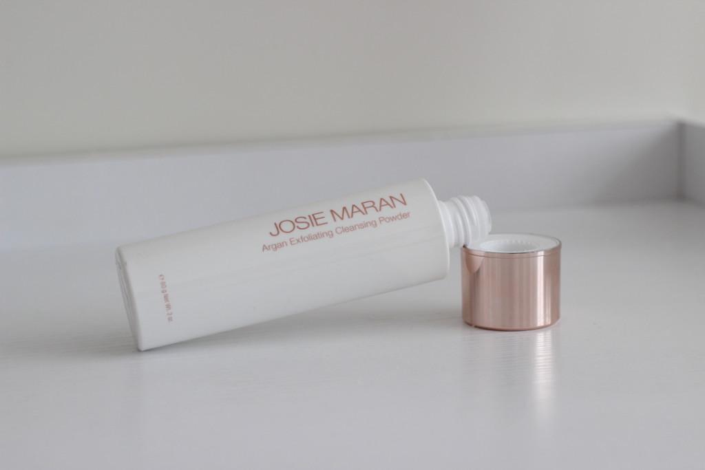 josie maran argan exfoliating cleansing powder on divalicious