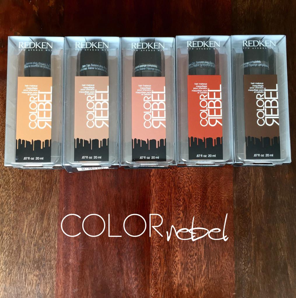 review redken color rebel naturals